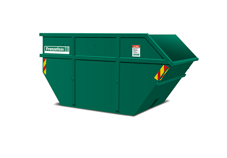 Åpen liftcontainer. web