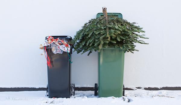 Kildesortering av jule- og nyttårsavfall