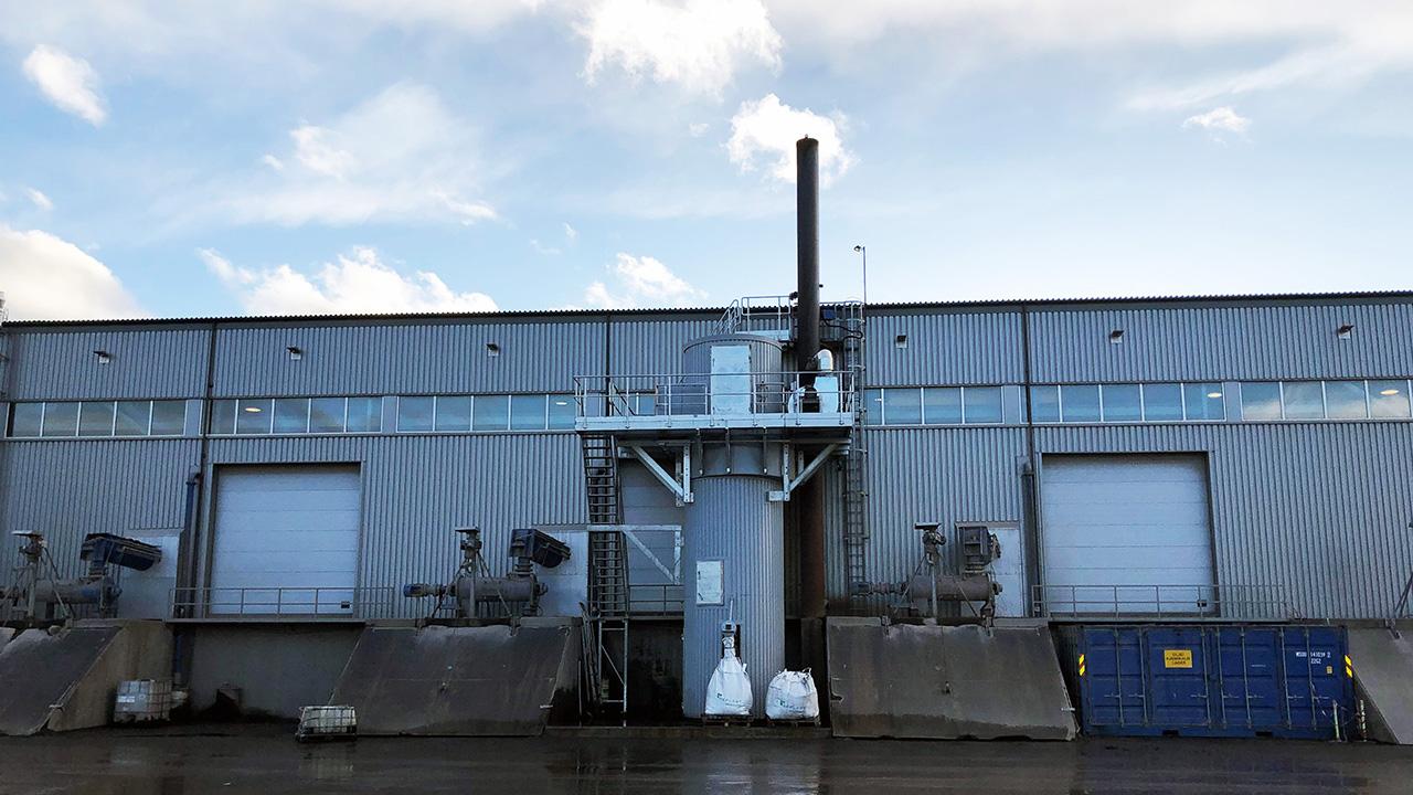 Nytt røykgassanlegg bidrar til renere nærmiljø i Kristiansund