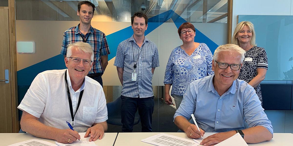 Franzefoss Gjenvinning signerer avtaler med Statkraft Varme