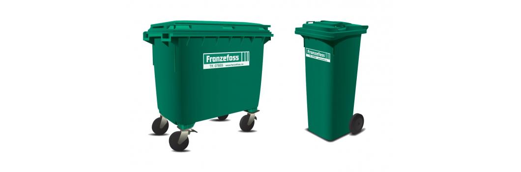 Avfallsbeholdere bilde